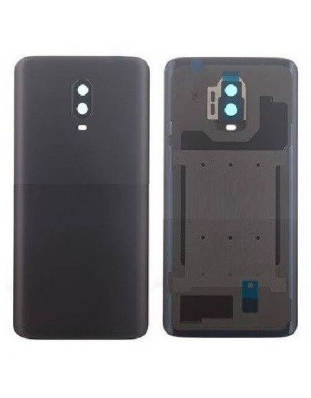 OnePlus 6T Back Cover Original - Mirror Black OnePlus - 1