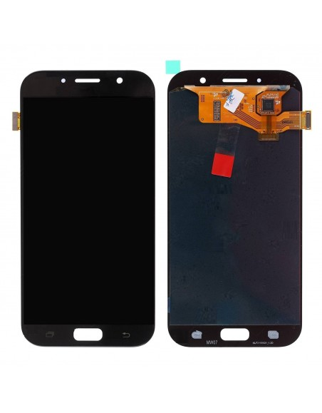 Samsung Galaxy A5 2017 SM-A520 LCD Screen and Digitizer Assembly - Black - Original GH97-19733A  - 1