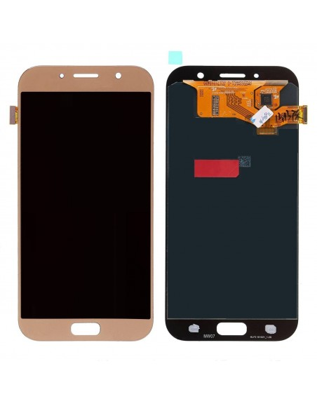 Samsung Galaxy A5 2017 SM-A520 LCD Screen and Digitizer Assembly - Gold - Original GH97-19733B  - 1