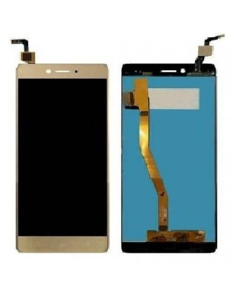 LENOVO K6 NOTE LCD Screen and Digitizer Assembly - Gold