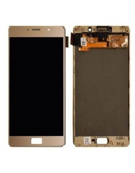 LENOVO P2 LCD Screen and Digitizer Assembly - Gold