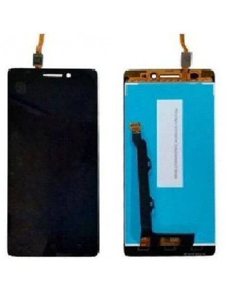 LENOVO A6600 PLUS LCD Screen Digitizer Assembly - Black