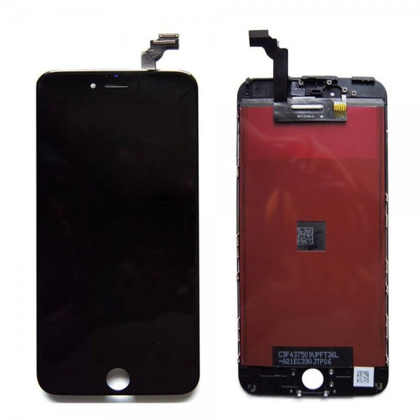 iPhone 6 LCD with Digitizer Assembly - Black Apple - 1