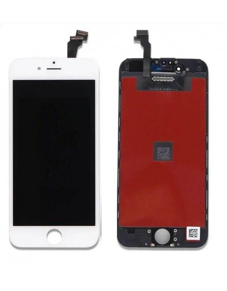 iPhone 6 LCD with Digitizer Assembly - White  - 1
