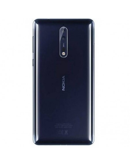 Nokia 8 Back Cover - Blue Nokia/Microsoft - 1