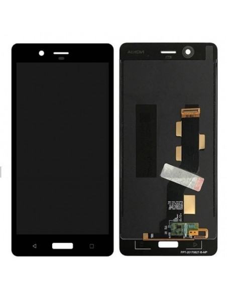 Nokia 8 LCD Screen and Digitizer Assembly - Black Nokia/Microsoft - 1