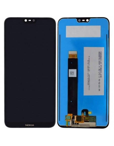 Nokia 7.1 LCD Screen and Digitizer Assembly - Black Nokia/Microsoft - 1