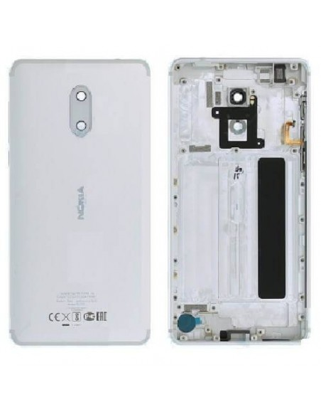 Nokia 6 Back Cover - White Nokia/Microsoft - 1