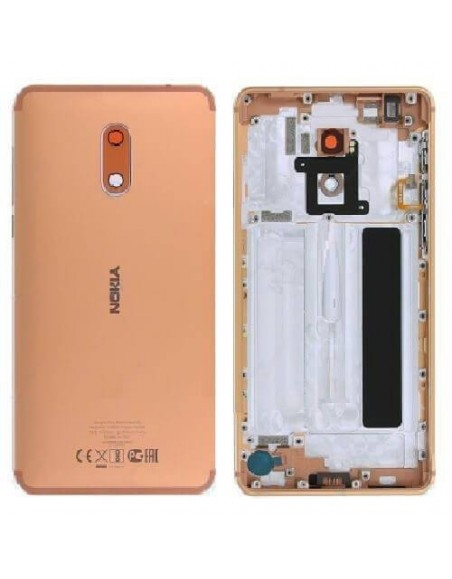 Nokia 6 Back Cover - Copper Nokia/Microsoft - 1
