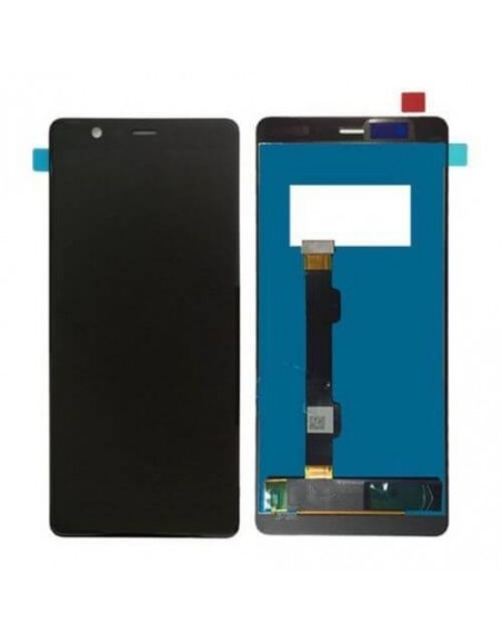 Nokia 5.1 LCD Screen and Digitizer Assembly - Black Nokia/Microsoft - 1