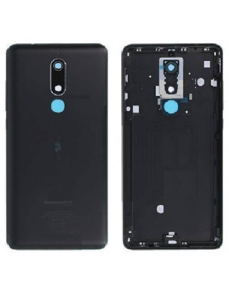 Nokia 5.1 Back Cover - Black Nokia/Microsoft - 1