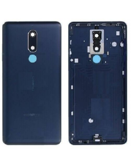 Nokia 5.1 Back Cover - Blue Nokia/Microsoft - 1