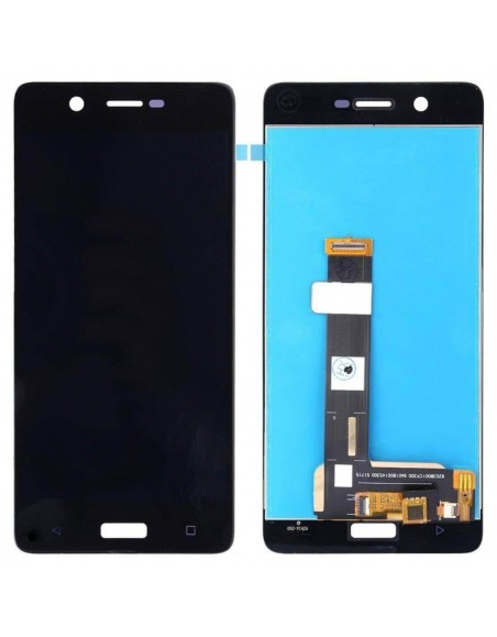 Nokia 5 LCD Screen and Digitizer Assembly - Black Nokia/Microsoft - 1