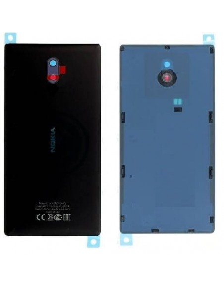 Nokia 3 Back Cover - Black Nokia/Microsoft - 1