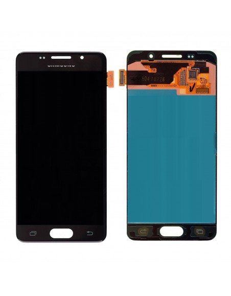 Samsung Galaxy A3 2016 SM-A310 LCD Screen and Digitizer Assembly - Black - Original GH97-18249B  - 1