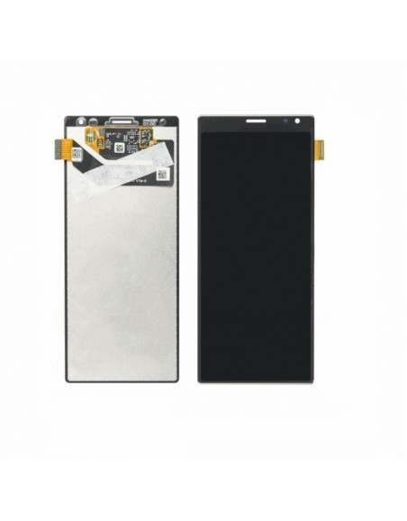 Sony Xperia 10 Plus / 10 Plus Dual LCD Screen and Digitizer Assembly with Frame - Black - Original Sony - 1
