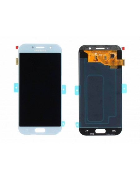 Samsung Galaxy A5 2017 SM-A520 LCD Screen and Digitizer Assembly - Blue Mist - Original GH97-19733C  - 1