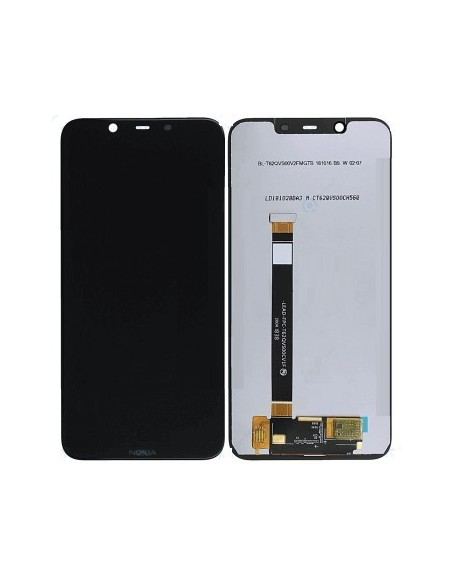 Nokia 8.1 LCD Screen and Digitizer Asseembly  - Black Nokia/Microsoft - 1