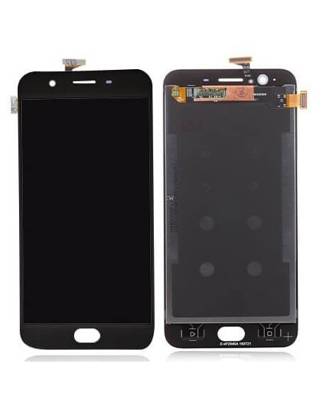 Oppo F1S LCD Screen and Digitizer Assembly - Gray  - 1