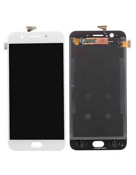 Oppo F1S LCD Screen and Digitizer Assembly - White  - 1