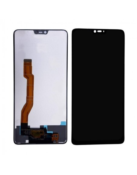 Oppo F7 LCD Screen and Digitizer Assembly - Black  - 1