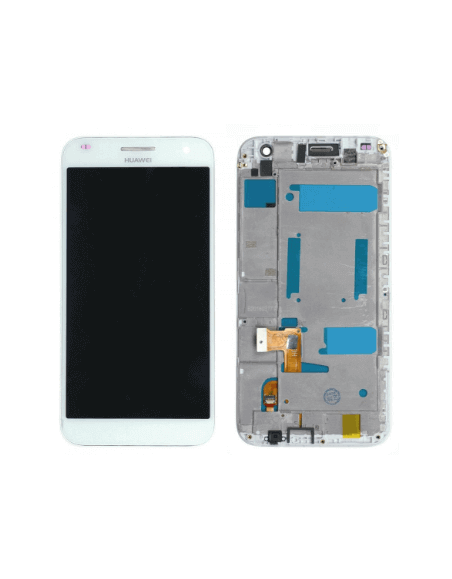 Huawei Ascend G7 LCD Screen and Digitizer Assembly - White Huawei - 1