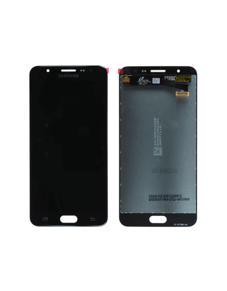 Samsung Galaxy J7 Prime SM-610F LCD Screen and Digitizer Assembly - Black - Original GH96-10367A  - 1