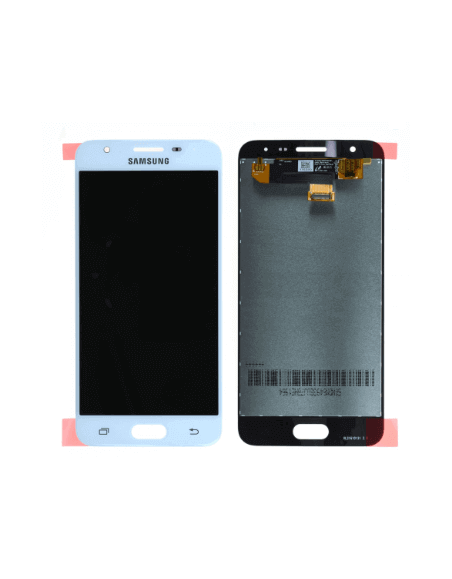 Samsung Galaxy J5 Prime SM-570F LCD Screen and Digitizer Assembly - White - Original GH96-10367A  - 1