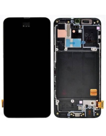 Samsung Galaxy M20 MS-205F/DS LCD Screen and Digitizer Assembly - Black - Original Samsung - 2