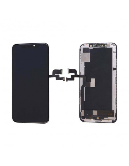 iPhone XS LCD Screen and Digitizer Assembly O-LED (GX) - Black Apple - 1