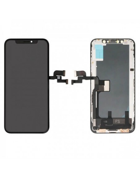 iPhone X In-Cell Quality LCD Screen and Digitizer Assembly - Black Apple - 1