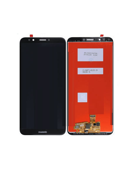 Huawei Y7 Prime 2018 LCD Screen and Digitizer Assembly - Black - Original  - 1