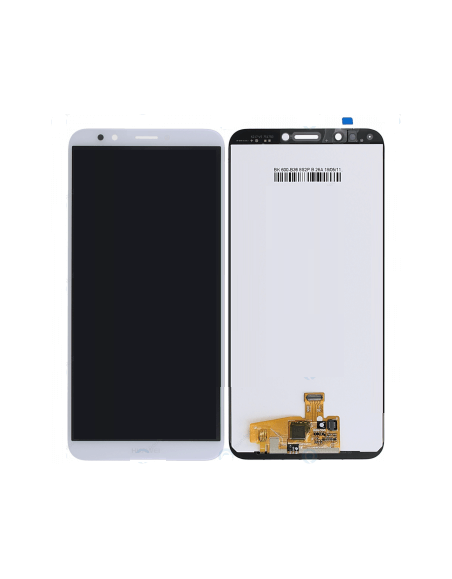 Huawei Y7 Prime 2018 LCD Screen and Digitizer Assembly - White - Original Huawei - 1