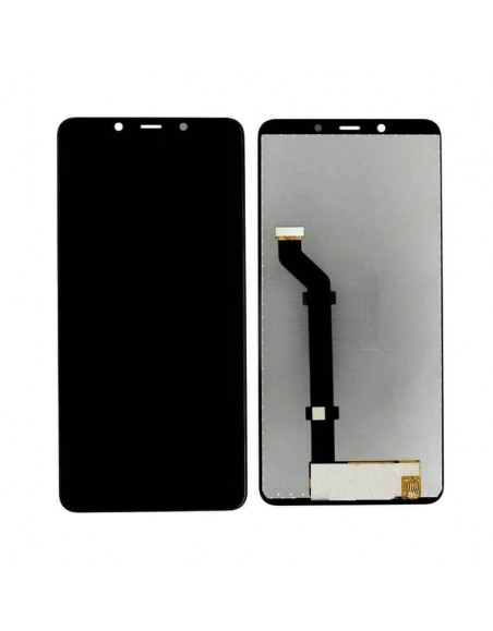 Nokia 3.1 Plus LCD Screen and Digitizer Assembly - Black Nokia/Microsoft - 1