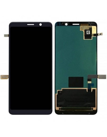 Nokia Pure 9 LCD Screen and Digitizer Assembly - Black Nokia/Microsoft - 1