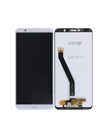 Huawei Y6 Prime 2018 LCD Screen and Digitizer Assembly - White Huawei - 1
