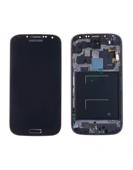 Samsung Galaxy S4 i9506 LCD Screen and Digitizer Assembly with Frame - Black GH97-14655L  - 1