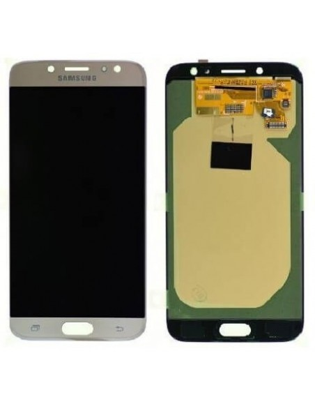 Samsung Galaxy J7 2017 SM-J730FD LCD Screen and Digitizer Assembly - Gold TFT Samsung - 1