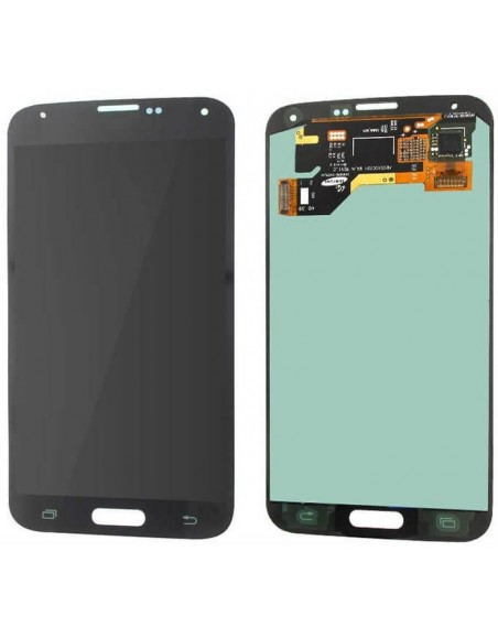 Samsung Galaxy S5 LCD Screen and Digitizer Assembly without Home Button - Black Samsung - 1
