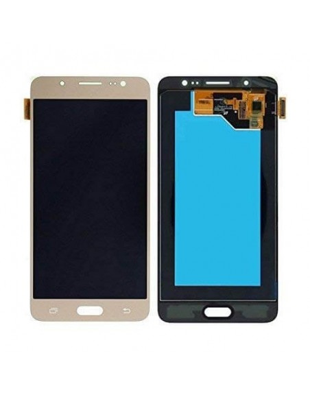Samsung Galaxy J7 2015 SM-J700F LCD Screen and Digitizer Assembly - Gold Oled Samsung - 1