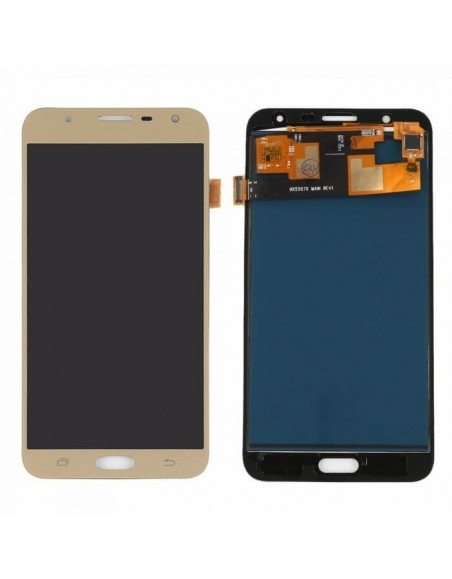Samsung Galaxy J7 Core LCD Screen and Digitizer Assembly - Gold Oled Samsung - 1