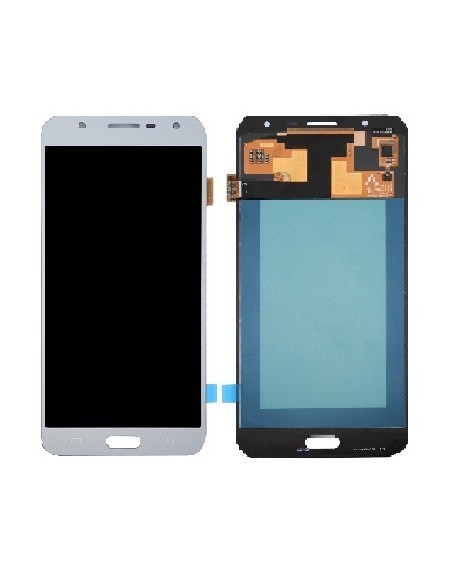Samsung Galaxy J7 Core LCD Screen and Digitizer Assembly - Silver Oled Samsung - 1
