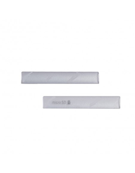 Replacement for Sony Xperia  Z3 Compact SD Card Cap Set (2 pcs/set) - White