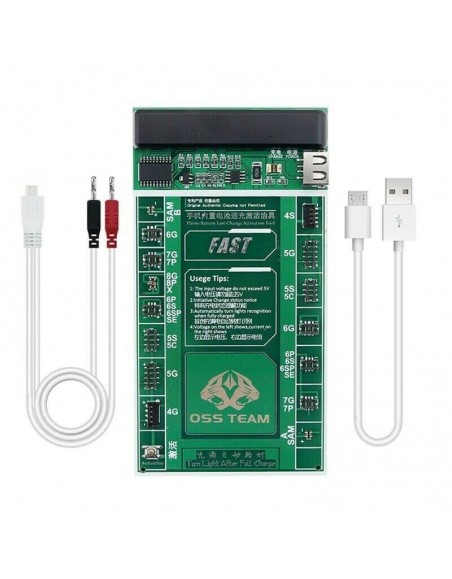W209A+ Mobile Phone Battery Activation Fast Charge Board+Micro USB Cable  - 1