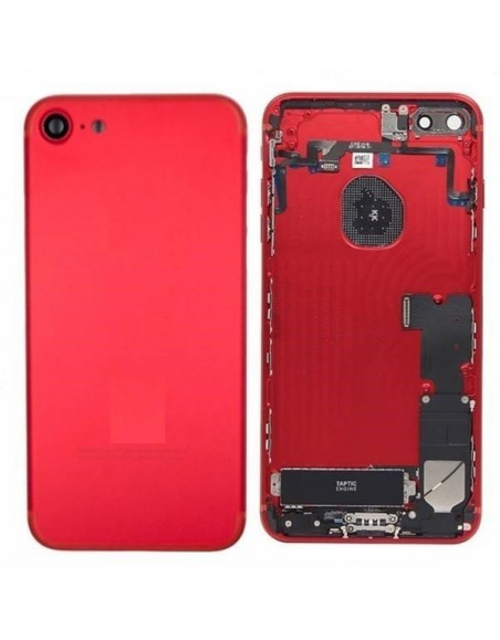 iPhone 7 Back Cover Full Assembly - Red