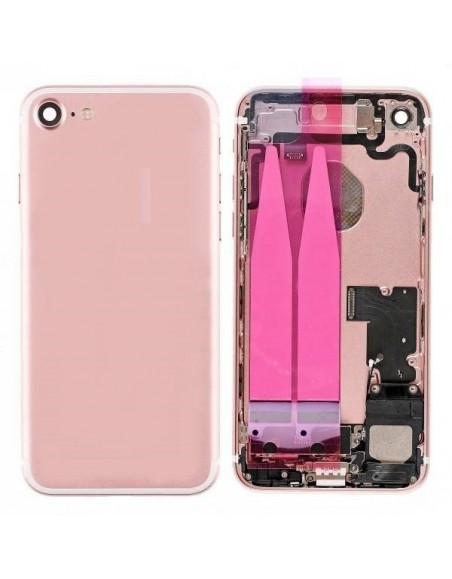 iPhone 7 Back Cover Full Assembly - Pink