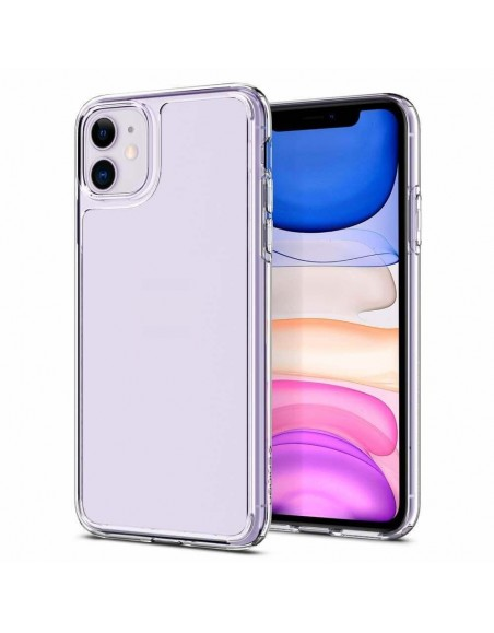 Crystal Clear Transparent Silicone Case For iPhone 11