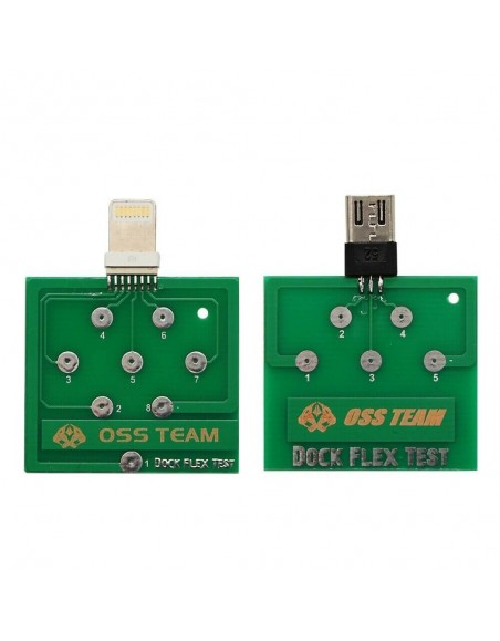 Charging Dock Flex Tester Repair Micro USB PCB Test Board for iPhone Android Telecom care - 1