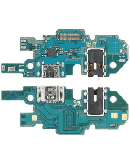 Galaxy A10 SM-A105F/DS Charging Connector , Jack Audio Board Samsung - 1