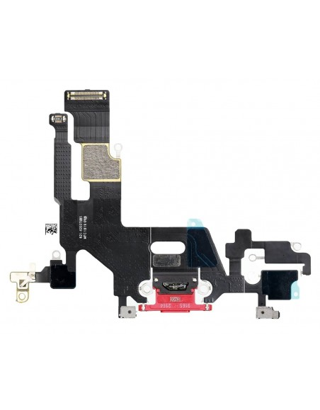 iPhone 11 Charging Connector Flex Cable - Red Apple - 1